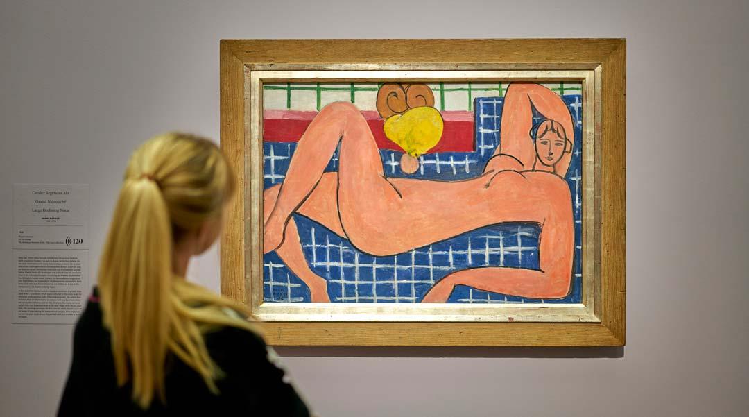 """Ausstellungsansicht: Matisse – Bonnard. """"Es lebe die Malerei!"""", © Städel Museum, Frankfurt"""