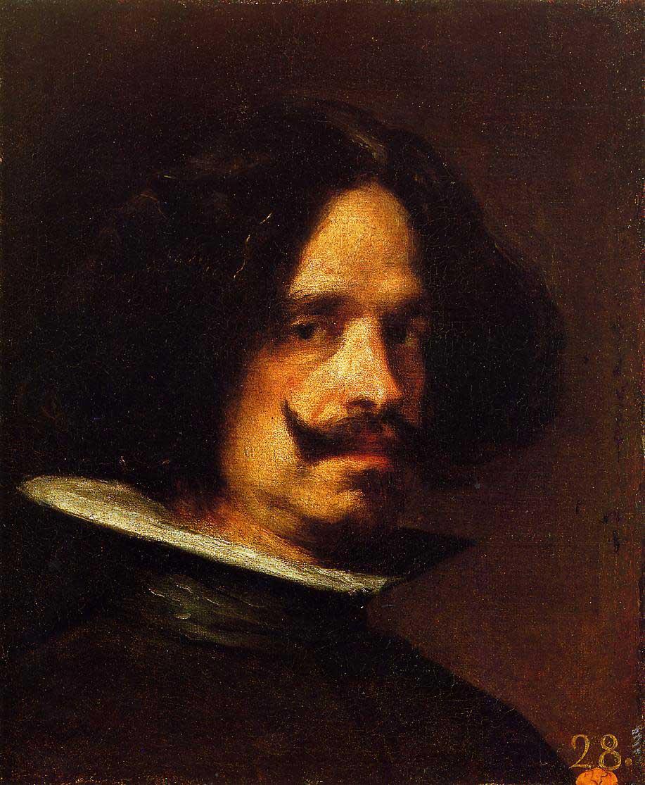 Diego Velázquez: Selbstbildnis, 1640, València, Museum der Schönen Künste (Wikimedia Commons)