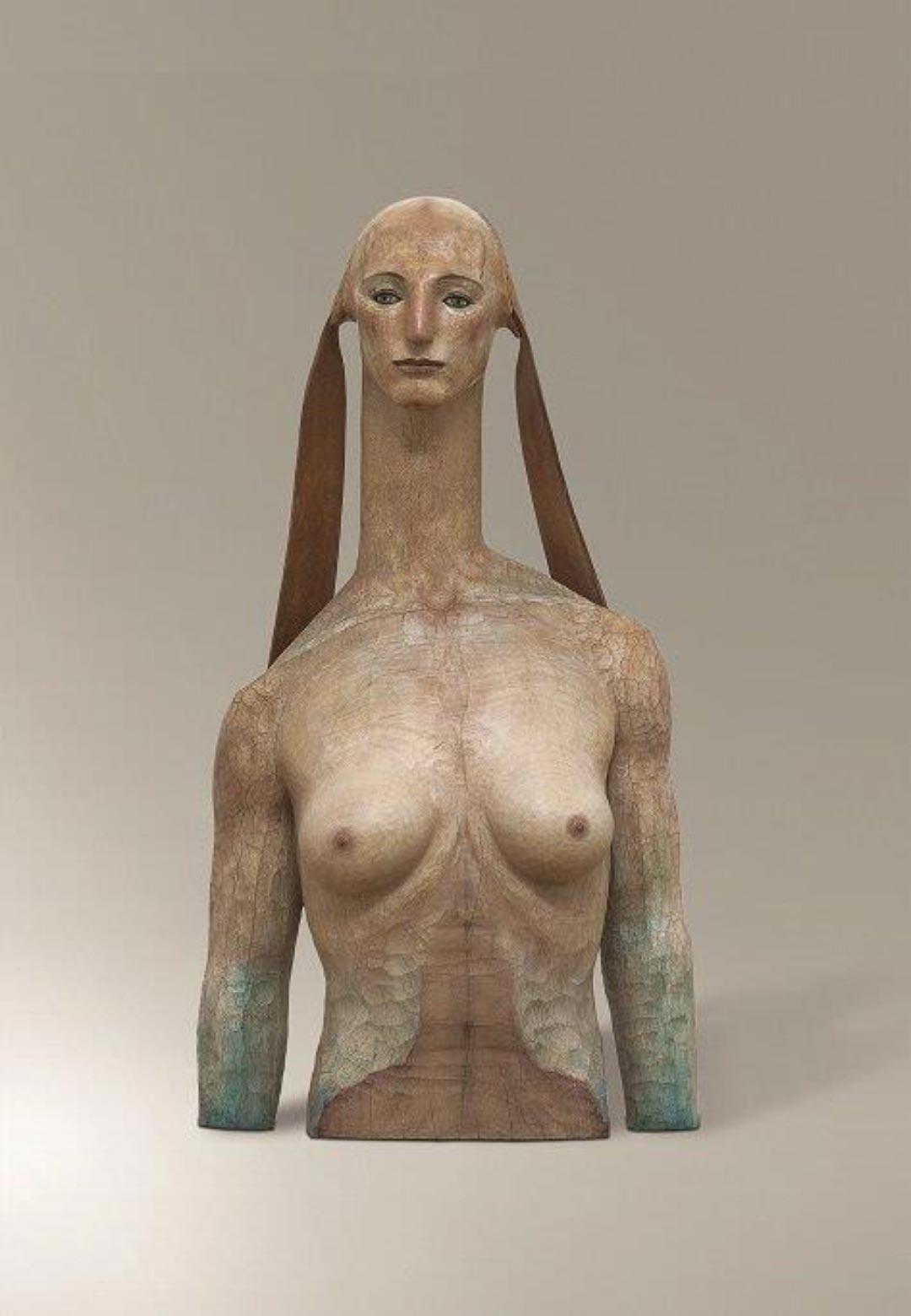 Katsura Funakoshi, A Tale of the Sphinx, 2004. Erworben mit Unterstützung durch die Freunde des Museums Wiesbaden (Foto: Ed Restle/ Museum Wiesbaden)
