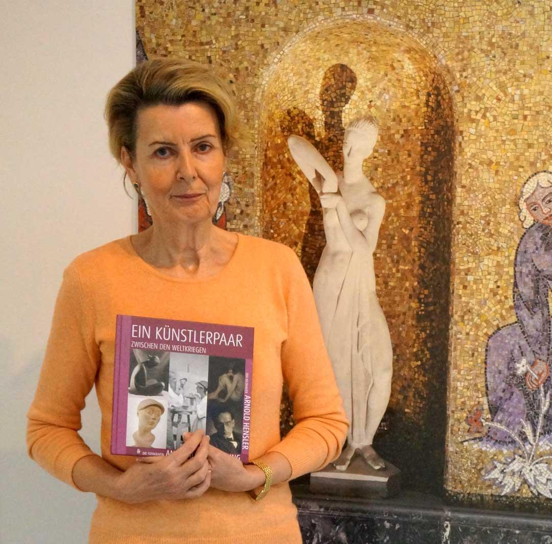 Felicitas Reusch, Vorsitzende der Kunstarche Wiesbaden e. V. (Foto: Helga Sigmund)