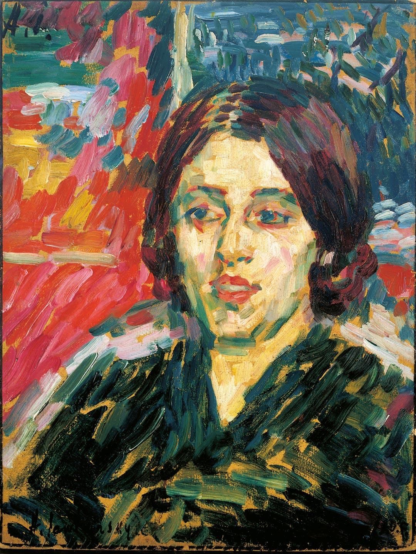 """Diese """"Madame Curie"""" von Jawlensky ist eine rumänische Bildhauerin. Sie ziert auch das aktuelle Halbjahresprogramm des Freunde-Vereins. (Foto: Museum Wiesbaden/Bernd Fickert)"""