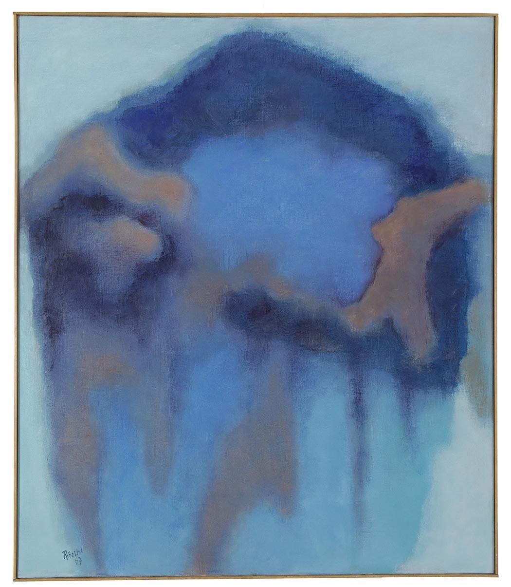 Otto Ritschl: Fünfzehntes Bild aus dem Jahr 1967, Spätwerk, Werkverzeichnis des Museumsvereins Ritschl e.V., Verlag Hirmer